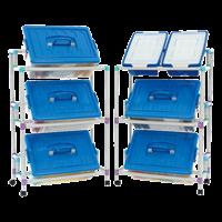 Система хранения для контейнеров с наклоном 3х1 (без контейнеров)