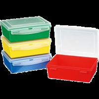 Контейнер – красный/желтый/синий/зеленый/прозрачный