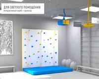 Базовая модель скалодрома, крепление к стене, короб V2