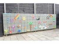 STEM Стена панель основание для улицы 800 x 1200
